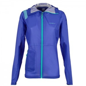 HAIL JKT W IRIS BLUE