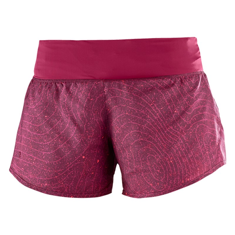 ELEVATE 2in1 SHORT W FIG/BEET RED/FUSION