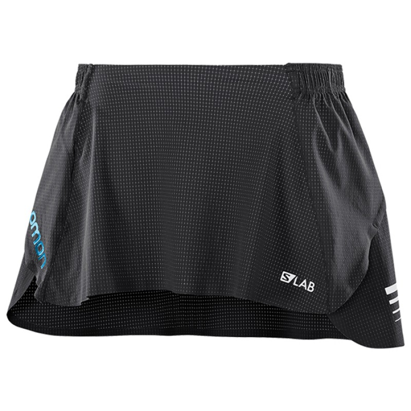 S-LAB SKIRT W BLACK