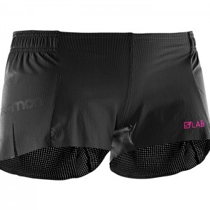 S-LAB LIGHT SHORT 3 W BLACK