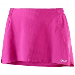 S-LAB LIGHT SKIRT W ROSE VIOLET