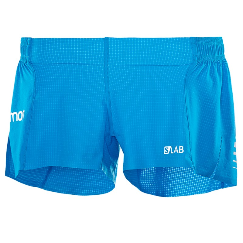 S-LAB SHORT 3 W TRANSCEND BLUE