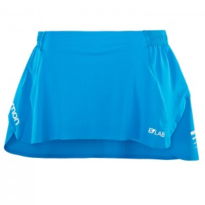 S-LAB SKIRT W TRANSCEND BLUE