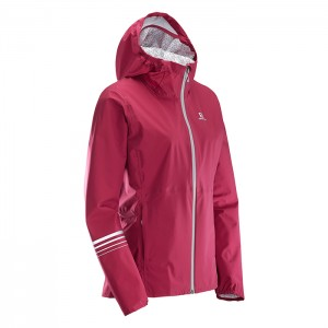LIGHTNING WP JKT W BREET RED