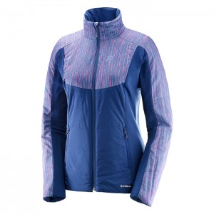 DRIFTER MID JACKET W MEDIEVAL BLUE