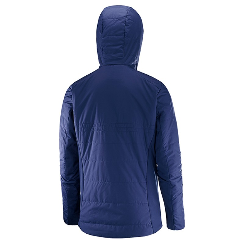 DRIFTER MID HOODIE W MEDIEVAL BLUE