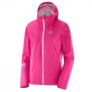 LIGHTNING WP JKT W PINK YARROW