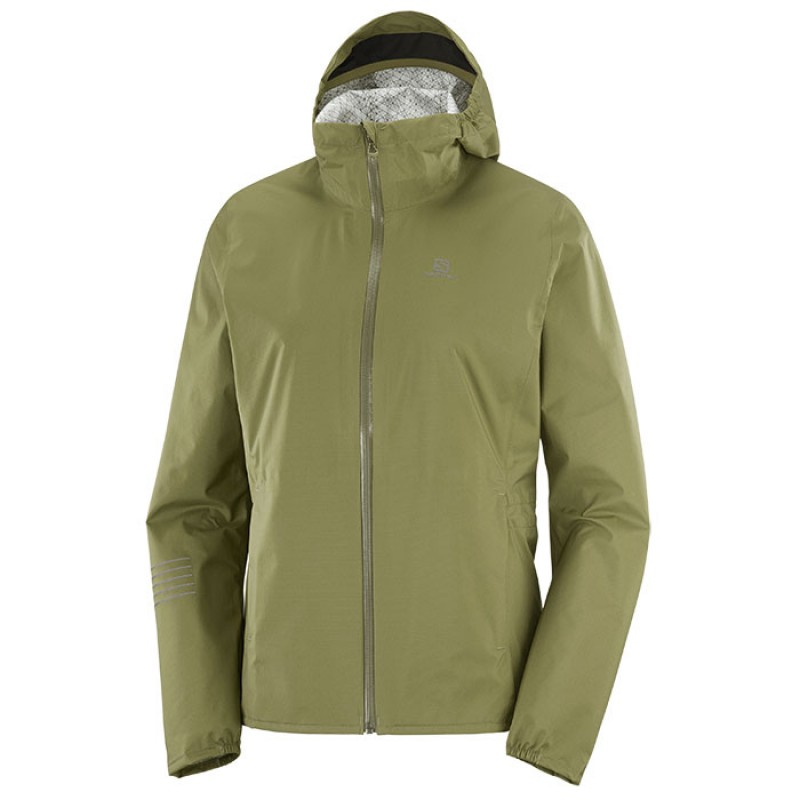 LIGHTNING WATERPROOF JKT W MARTINI OLIVE