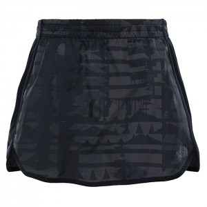 RAPIDA SKIRT W TNF BLACK REFLECTIVE PRNT