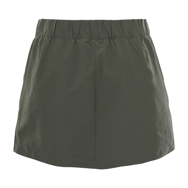 INLUX SKORT W GRAPE LEAF