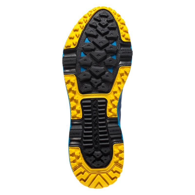 CASCADIA 11 BLUE/CLOISONNE/YELLOW
