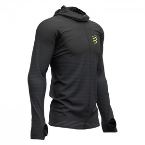 3D THERMO SEAMLESS HOODIE ZIP BLACK EDITION 2019