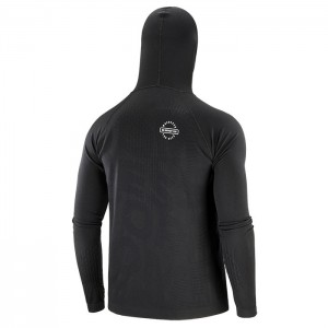 3D THERMO SEAMLESS HOODIE ZIP BLACK EDITION 2020