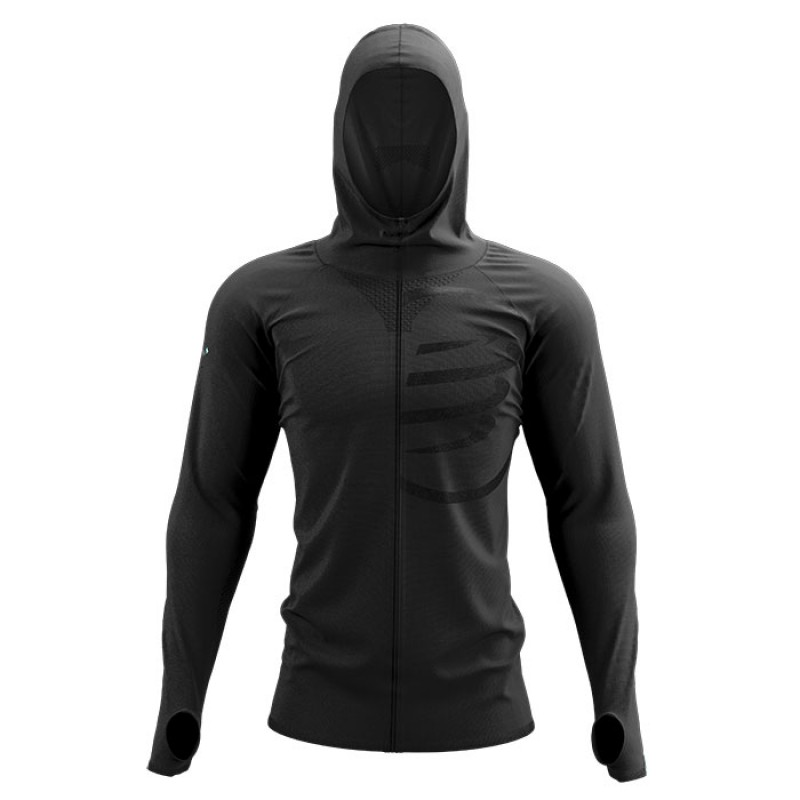3D THERMO SEAMLESS HOODIE ZIP BLACK EDITION 2021