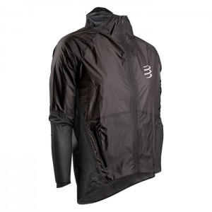HURRICANE WATERPROOF 25/75 JACKET BLACK