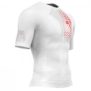 TRAIL RUNNING POSTURAL SS TOP WHITE