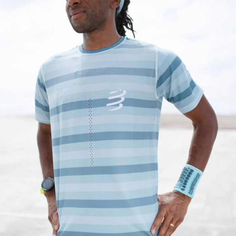 PERFORMANCE SS TSHIRT NILE BLUE