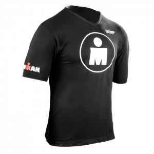 RUNNING T-SHIRT- IRONMAN MDOT BLACK