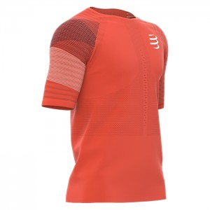 RACING SHORT SLEEVE TSHIRT BLOOD ORANGE