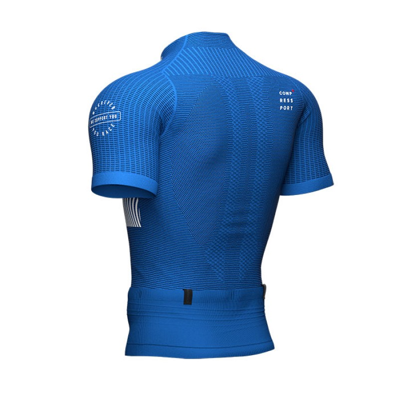 TRAIL POSTURAL SS TOP BLUE LOLITE