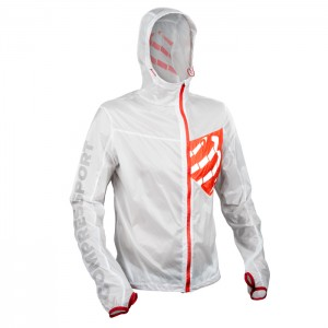 TRAIL HURRICANE JACKET WHITE