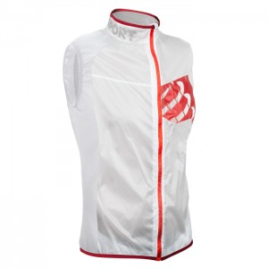 TRAIL HURRICANE VEST WHITE