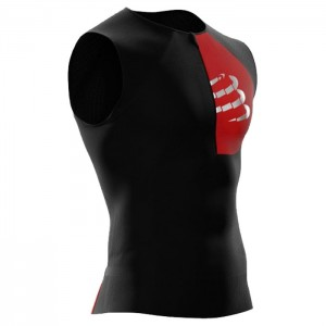 TRIATHLON POSTURAL TANK TOP BLACK