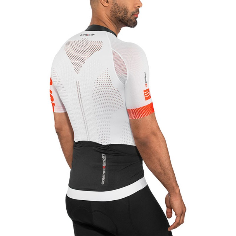 CYCLING ON/OFF MAILLOT WHITE