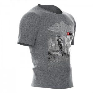 TRAINING T-SHIRT SS - MONT BLANC 2018 GREY