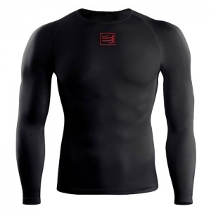 3D THERMO ULTRALIGHT LS TOP BLACK