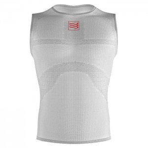3D THERMO ULTRALIGHT TANK TOP WHITE