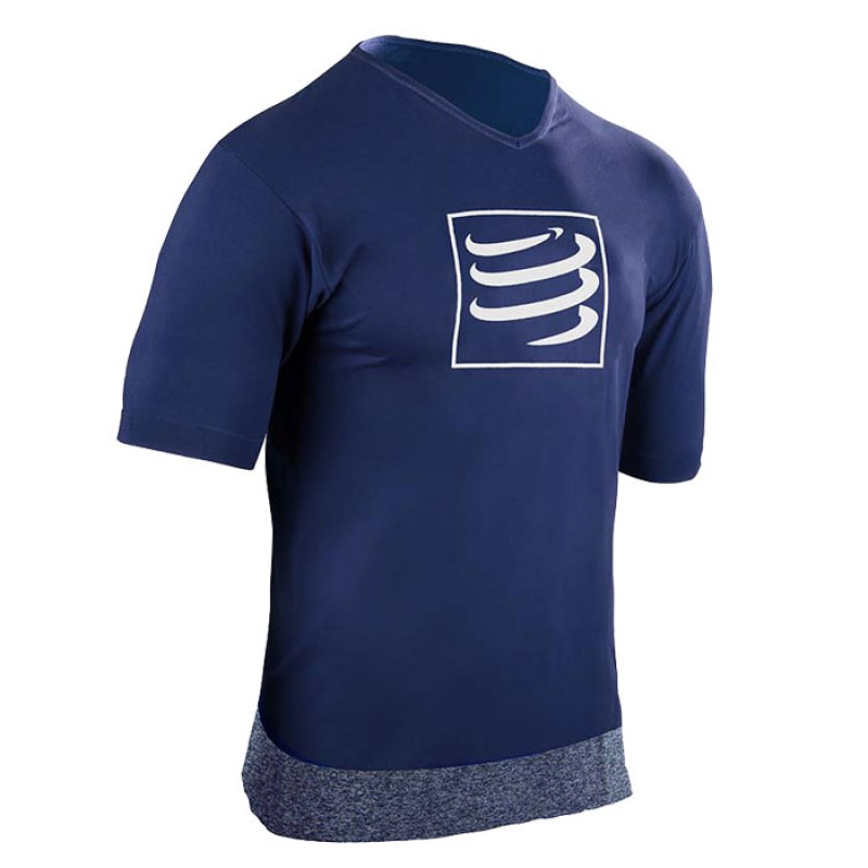 TRAINING TSHIRT SS BLUE