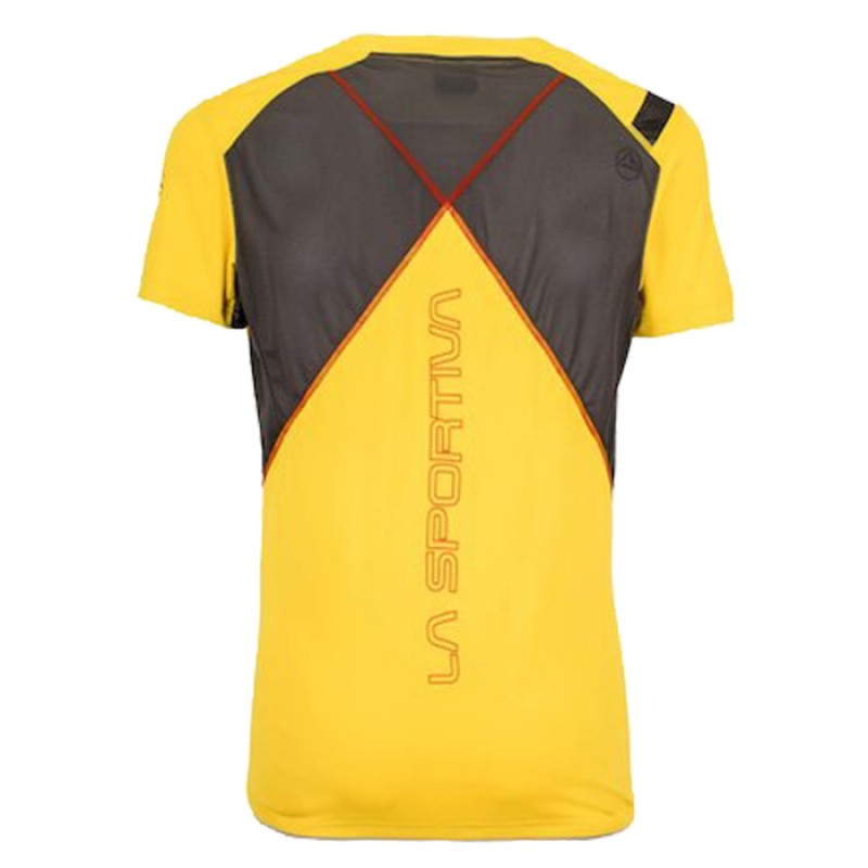 BLITZ T-SHIRT YELLOW/CARBON