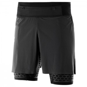 EXO TWINSKIN SHORT BLACK