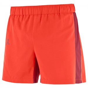 AGILE 5 SHORT FIERY RED