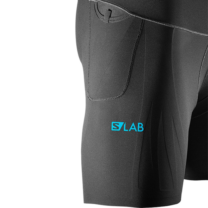 S-LAB SUPPORT HALF TIGHT BLACK