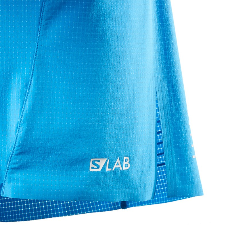 S-LAB SHORT 6 TRANSCEND BLUE