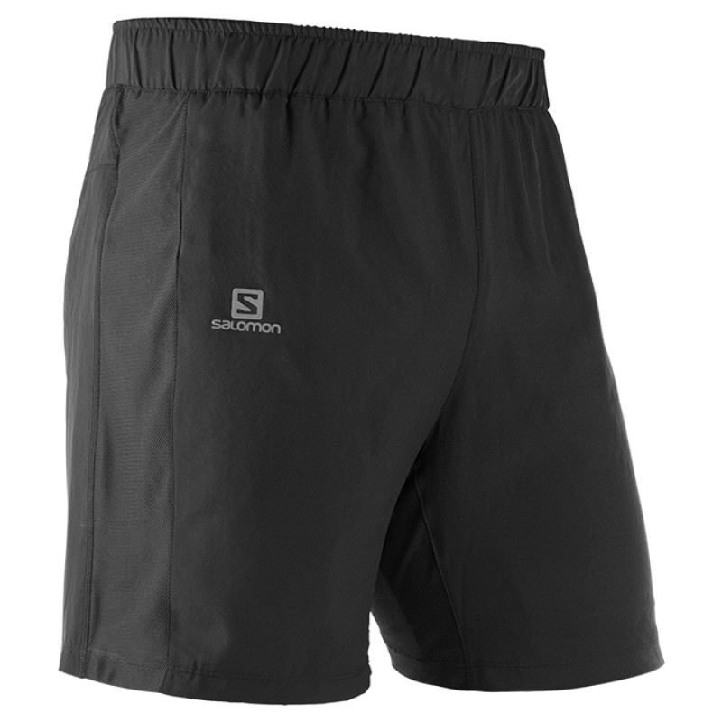 AGILE 2IN1 SHORT BLACK