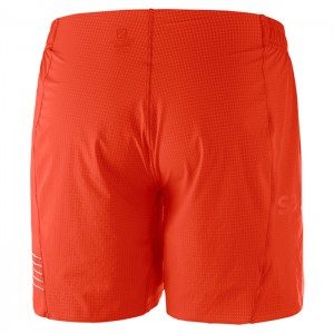 S-LAB SHORT 6 RACING RED