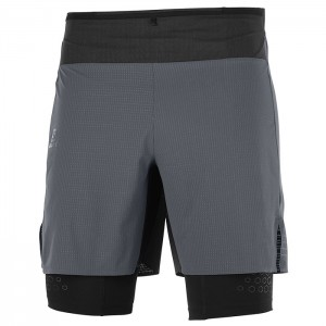 EXO MOTION TWINSKIN SHORT EBONY BLACK