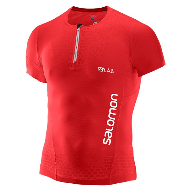 S-LAB EXO HZ SS TEE RACING RED