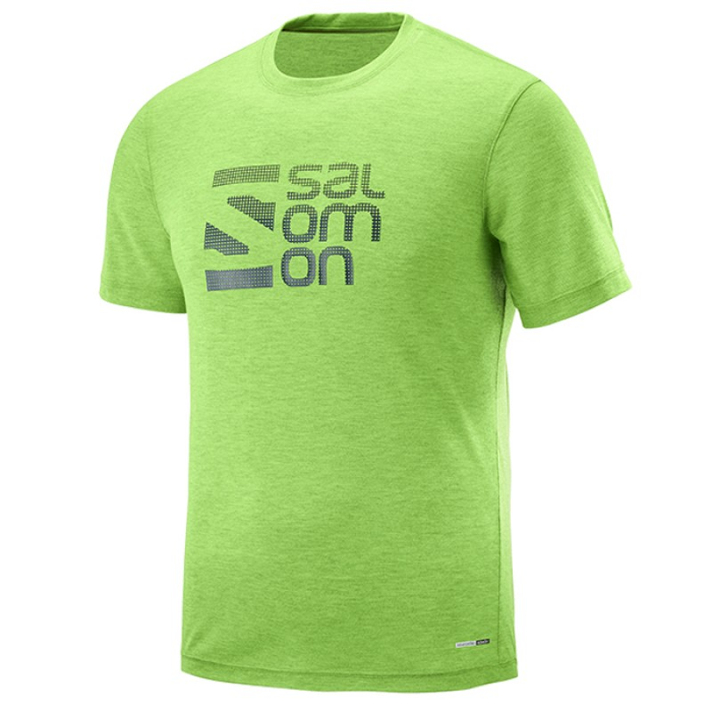 EXPLORE GRAPHIC SS TEE GREEN