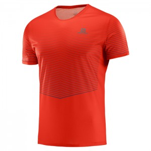 SENSE TEE FIERY RED/BIKING RED