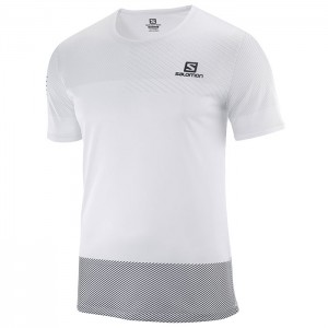 SENSE TEE WHITE/BLACK/ALLOY