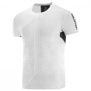 S-LAB SENSE TEE WHITE/BLACK