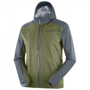 BONATTI WP JACKET EBONY/OLIVE NIGHT