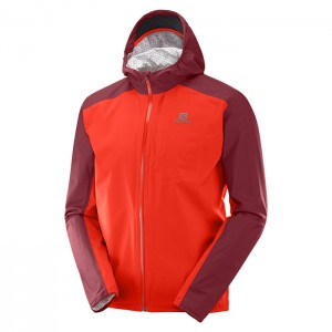 BONATTI WP JACKET FIERY RED/BIKING RED