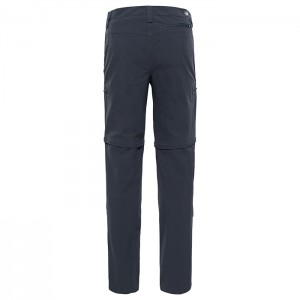 EXPLORATION CONVERTIBLE PANT ASPHALT GREY