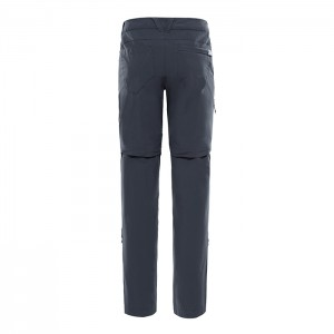 EXPLORATION CONVERTIBLE PANT ASPHALT GREY W