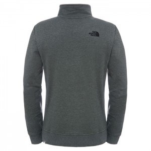 1/4 ZIP PULLOVER ROSIN GREEN